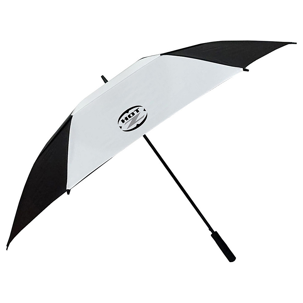 """Hot-Z Golf Bags 62"""" Double Canopy Umbrella Black - Hot-Z Golf Bags Sports Accessories"""