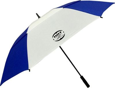 "Hot-Z Golf Bags 62"""" Double Canopy Umbrella Blue - Hot-Z Golf Bags Sports Accessories"