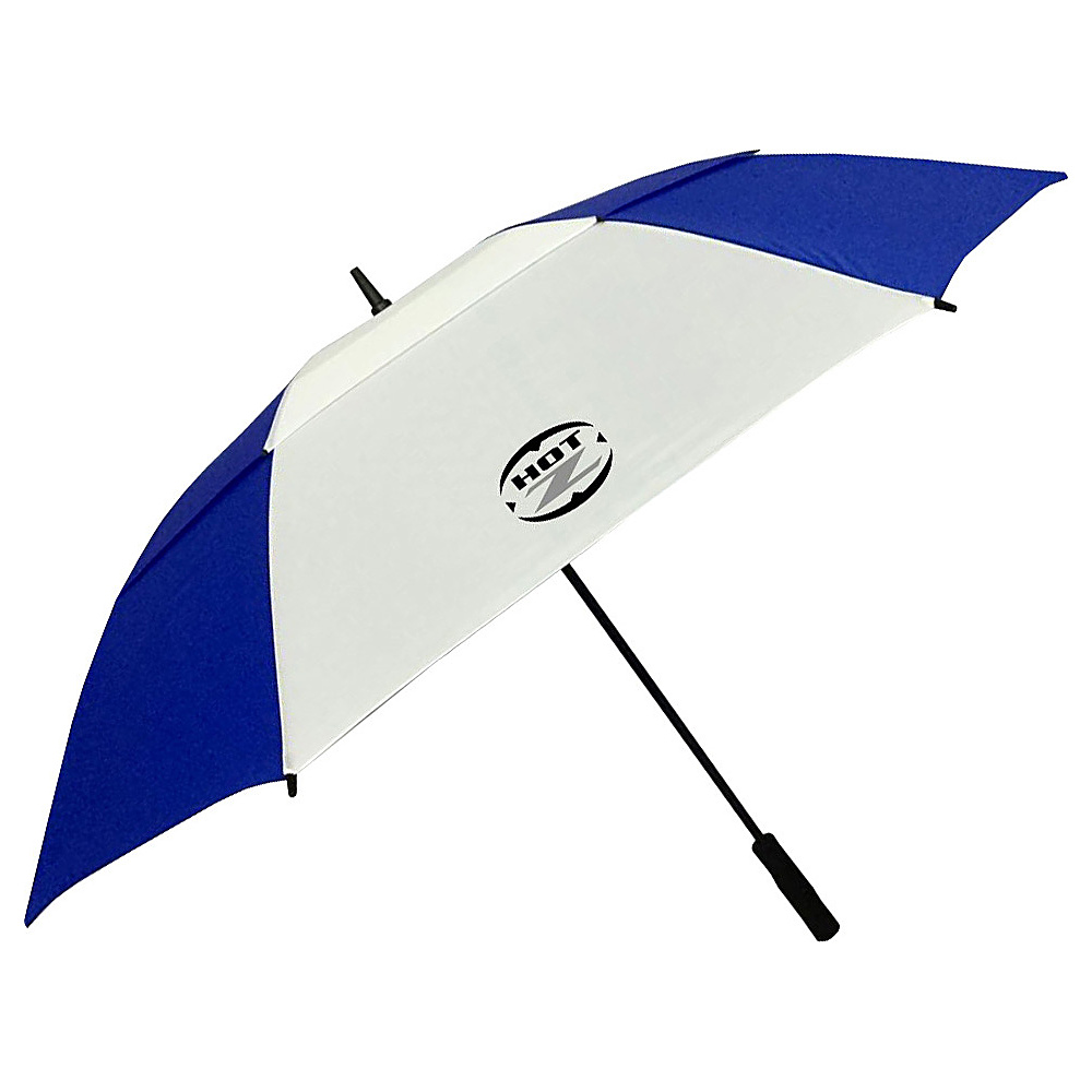 """Hot-Z Golf Bags 62"""" Double Canopy Umbrella Blue - Hot-Z Golf Bags Sports Accessories"""