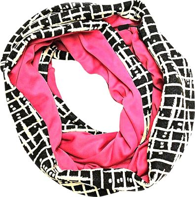 Sholdit Asia Scarf Purse Pink Asia - Sholdit Hats/Gloves/Scarves