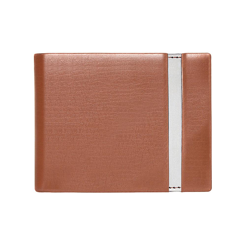 Stewart Stand Leather Tech Bill Fold Vertical Tan Stewart Stand Men s Wallets