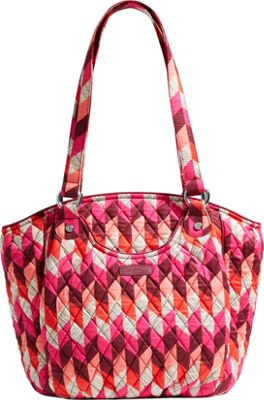 Vera Bradley Glenna Tote- Retired Prints Bohemian Chevron - Vera Bradley Fabric Handbags