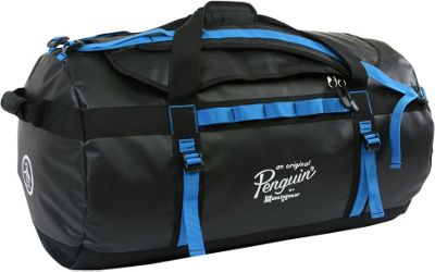 Original Penguin Luggage Compass Water-Resistant 2-in-1 Large Duffel/Backpack Black/Blue - Original Penguin Luggage Rolling Duffels