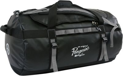 Original Penguin Luggage Original Penguin Luggage Compass Water-Resistant 2-in-1 Large Duffel/Backpack Black/Grey - Original Penguin Luggage Rolling Duffels