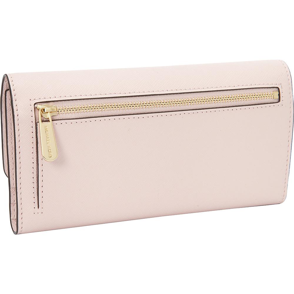 ce5d9062bc12 MICHAEL Michael Kors Ava Large Trifold Wallet 3 Colors Designer Ladies  Wallet