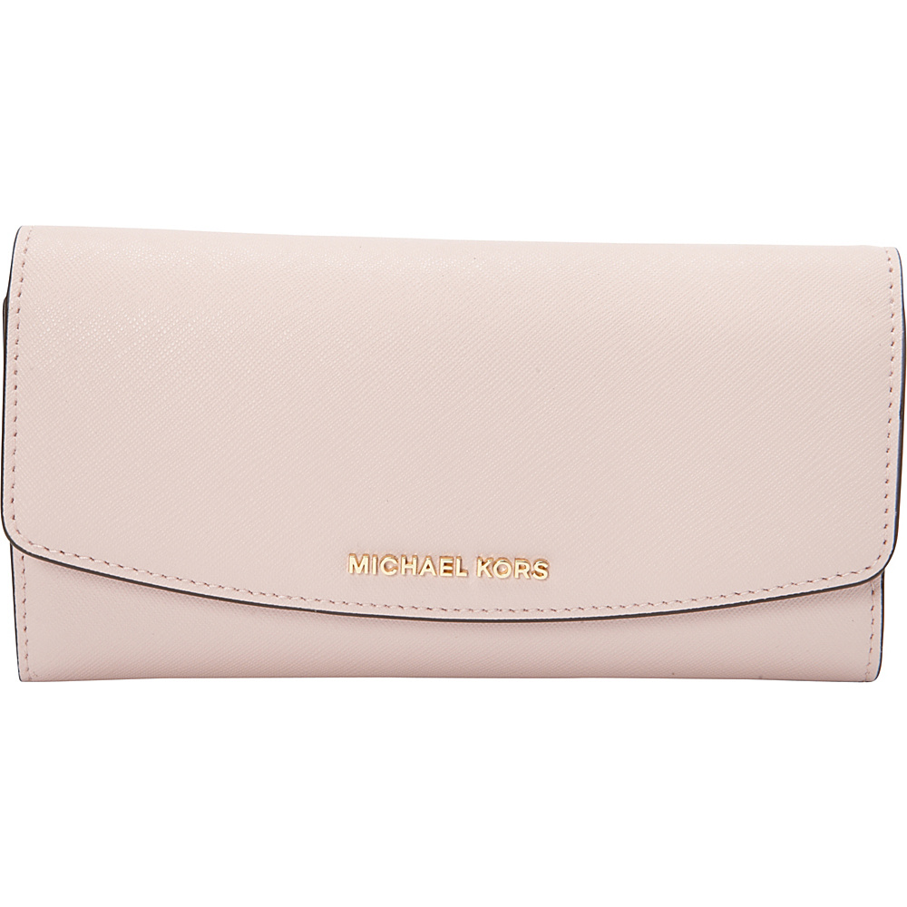 MICHAEL Michael Kors Ava Large Trifold Wallet Blossom - MICHAEL Michael Kors Designer Ladies Wallets