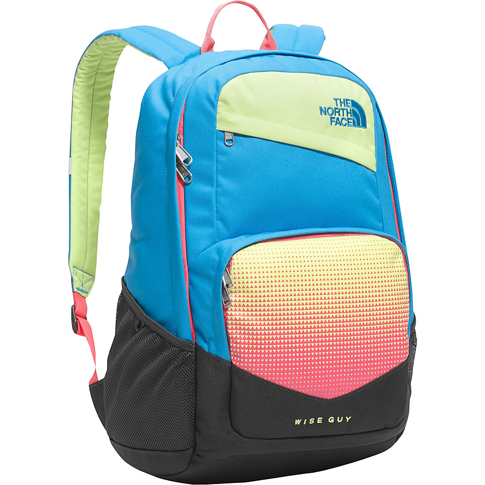 The North Face Wise Guy Backpack Blue Aster Sharp Green The North Face Everyday Backpacks