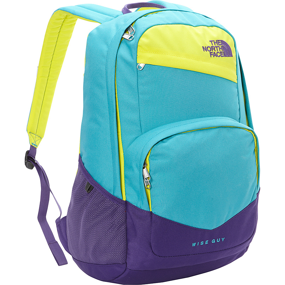 The North Face Wise Guy Backpack Bluebird Blazing Yellow The North Face Everyday Backpacks