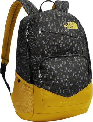 The North Face Wise Guy Backpack TNF Black Paper Cuts - The North Face Everyday Backpacks
