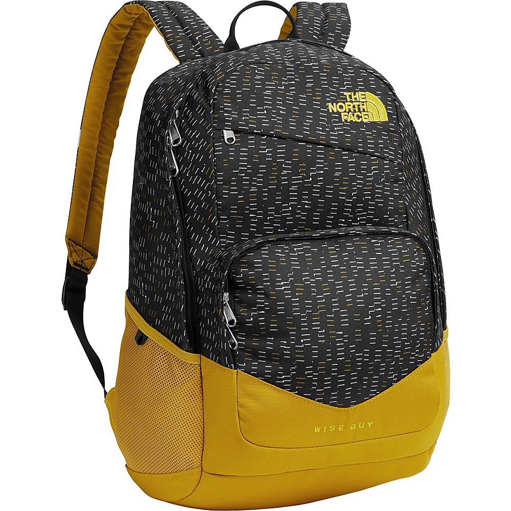 The North Face Wise Guy Backpack TNF Black Paper Cuts - The North Face Everyday Backpacks - Backpacks, Everyday Backpacks