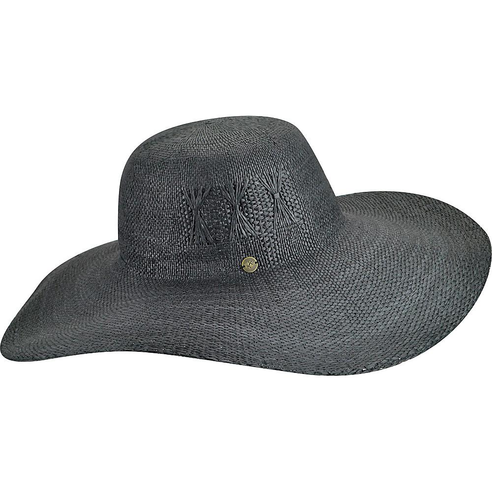 Karen Kane Hats Fine Weave Floppy Hat Black Karen Kane Hats Hats Gloves Scarves