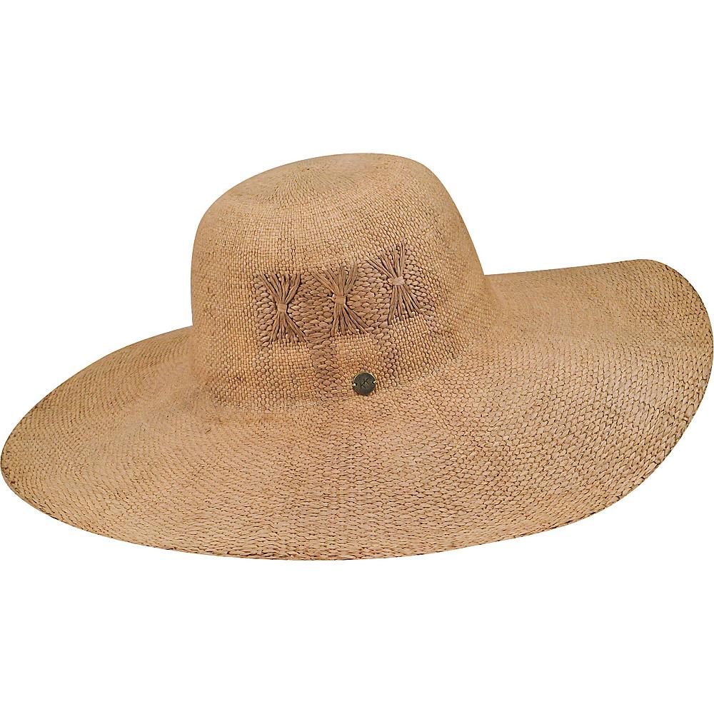 Karen Kane Hats Fine Weave Floppy Hat Honey Karen Kane Hats Hats Gloves Scarves