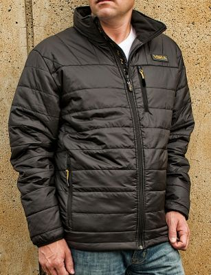 Volt Heated Clothing Mens Insulated Jacket XL - Black - Volt Heated Clothing Men's Apparel