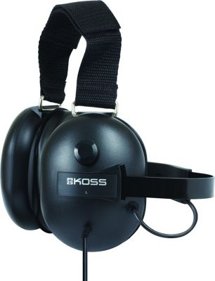 Koss Scanner Headphones with Passive Noise Cancellation Black - Koss Headphones & Speakers