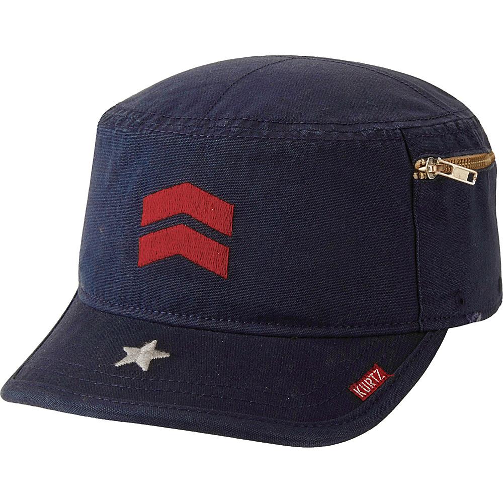 A Kurtz Fritz Cap Airborne Navy M A Kurtz Hats Gloves Scarves