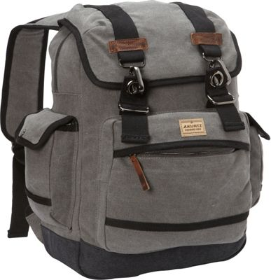 A Kurtz Spruce Rucksack Charcoal - A Kurtz Business & Laptop Backpacks