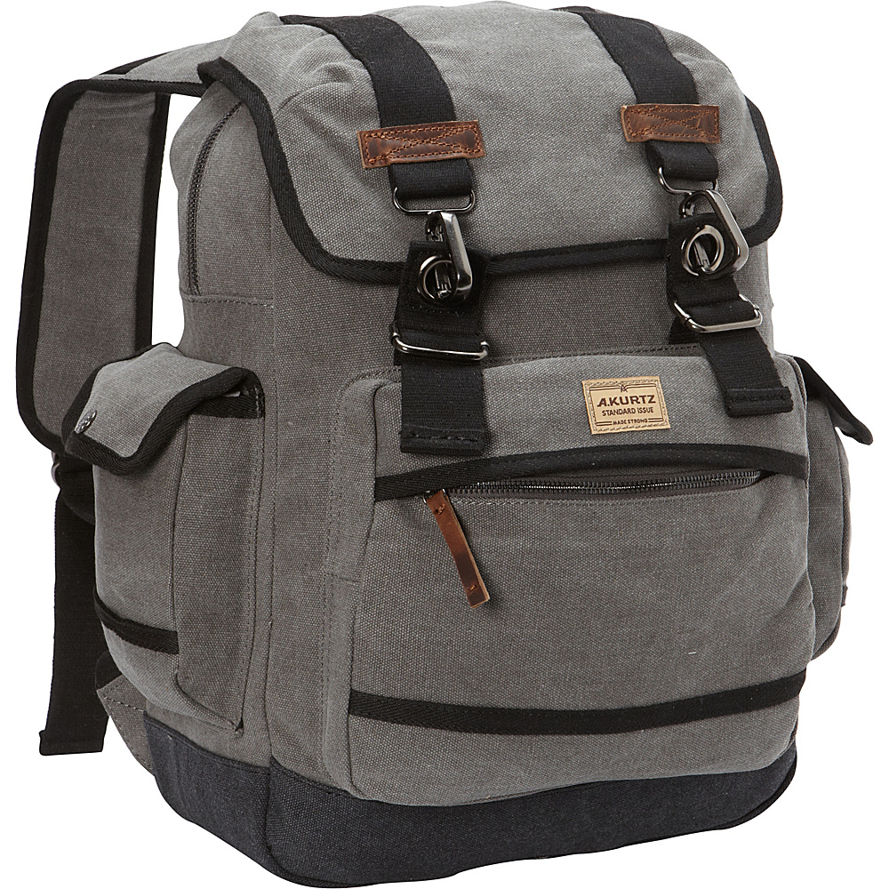 A Kurtz Spruce Rucksack Charcoal A Kurtz Business Laptop Backpacks