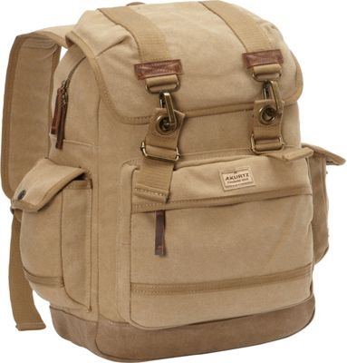 A Kurtz Spruce Rucksack Tan - A Kurtz Business & Laptop Backpacks