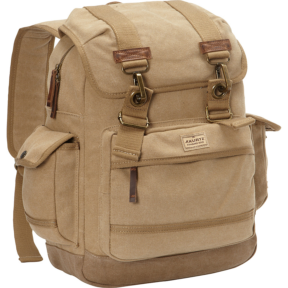 A Kurtz Spruce Rucksack Tan A Kurtz Business Laptop Backpacks