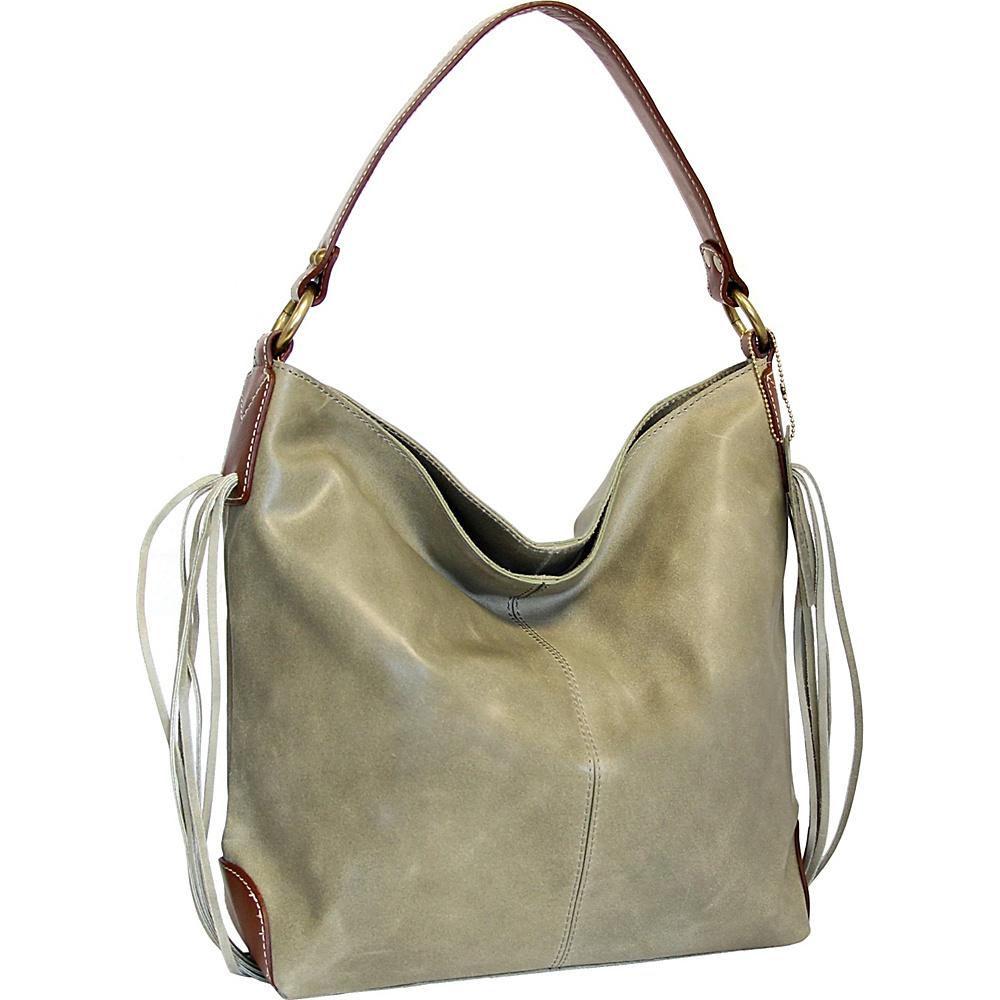 Nino Bossi Mustang Molly Shoulder Bag Sea Foam - Nino Bossi Leather Handbags - Handbags, Leather Handbags