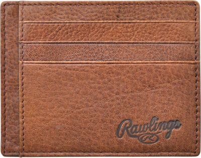 Rawlings Triple Play ID Case Cognac - Rawlings Men's Wallets