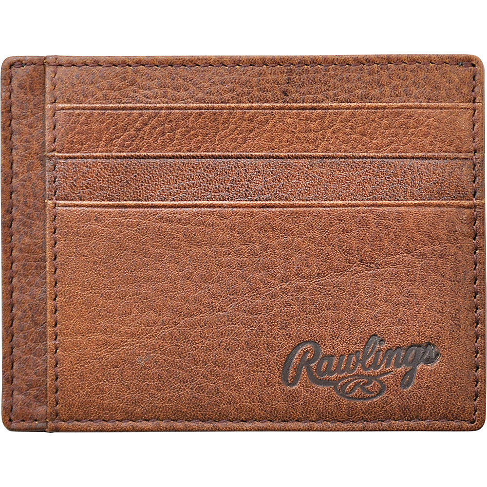 Rawlings Triple Play ID Case Cognac Rawlings Men s Wallets