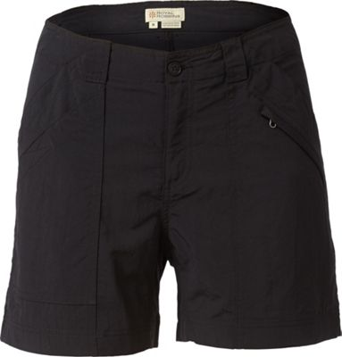 Royal Robbins Womens Backcountry Shorts 14 - Jet Black - ...