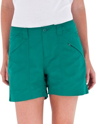 Royal Robbins Womens Backcountry Shorts 6 - Sea Glass Green - Royal Robbins Women's Apparel