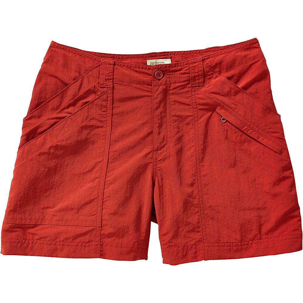 Royal Robbins Womens Backcountry Shorts 12 - Pimento - Royal Robbins Womens Apparel - Apparel & Footwear, Women's Apparel