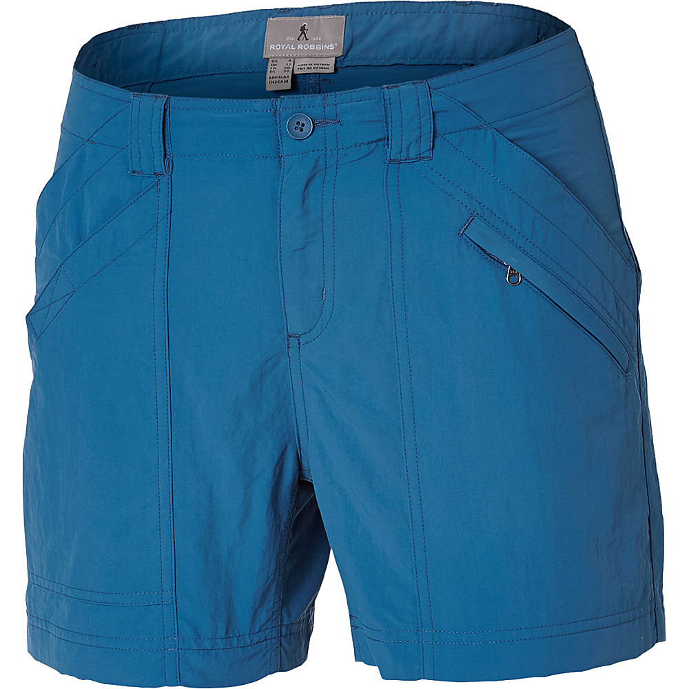 Royal Robbins Womens Backcountry Shorts 12 - Wave - Royal Robbins Womens Apparel - Apparel & Footwear, Women's Apparel