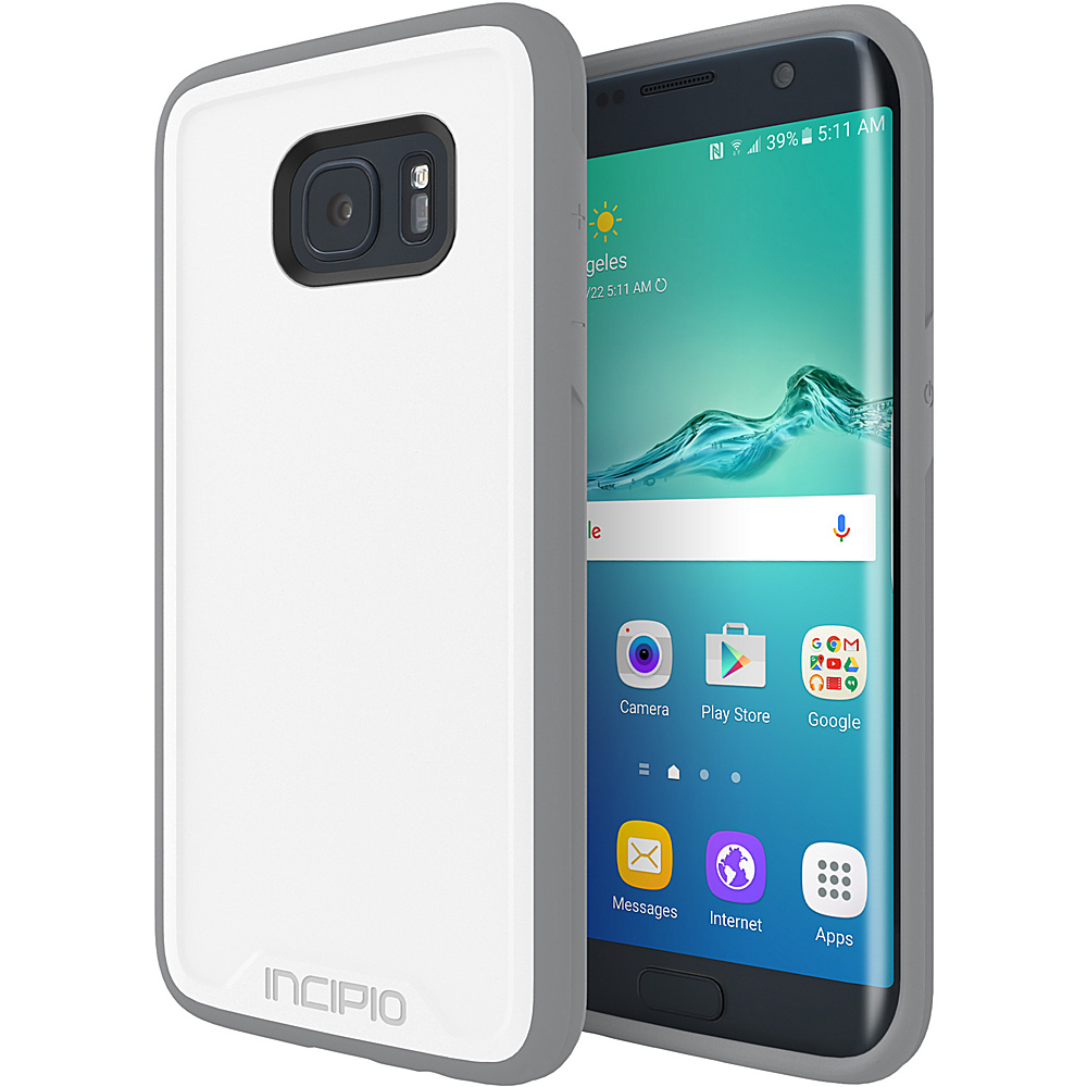 Incipio Performance Series Level 2 for Samsung Galaxy S7 Edge White/Gray - Incipio Electronic Cases - Technology, Electronic Cases