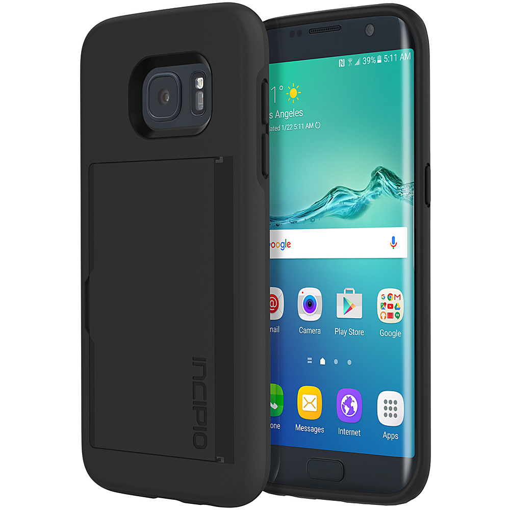 Incipio Stowaway for Samsung Galaxy S7 Edge Black - Incipio Electronic Cases - Technology, Electronic Cases