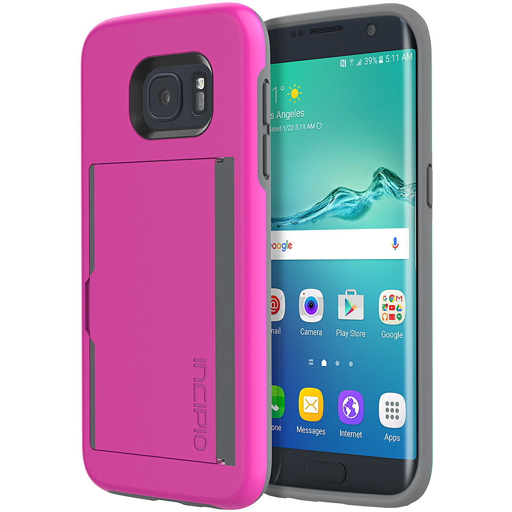 Incipio Stowaway for Samsung Galaxy S7 Edge Pink - Incipio Electronic Cases - Technology, Electronic Cases