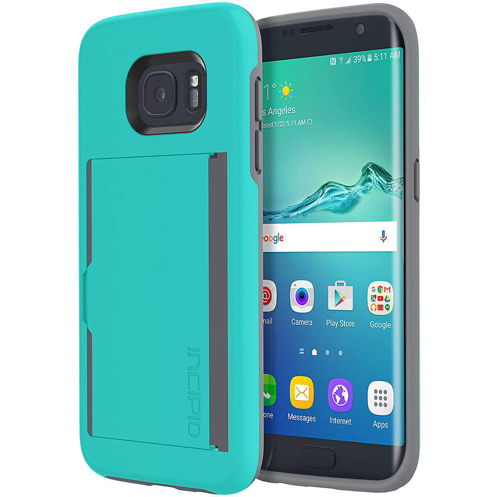 Incipio Stowaway for Samsung Galaxy S7 Edge Teal - Incipio Electronic Cases - Technology, Electronic Cases