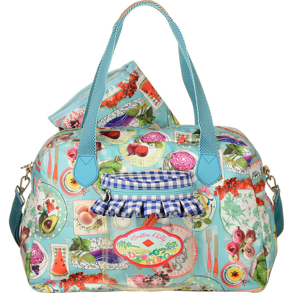 Oilily Baby Bag Sky Blue - Oilily Diaper Bags & Accessories