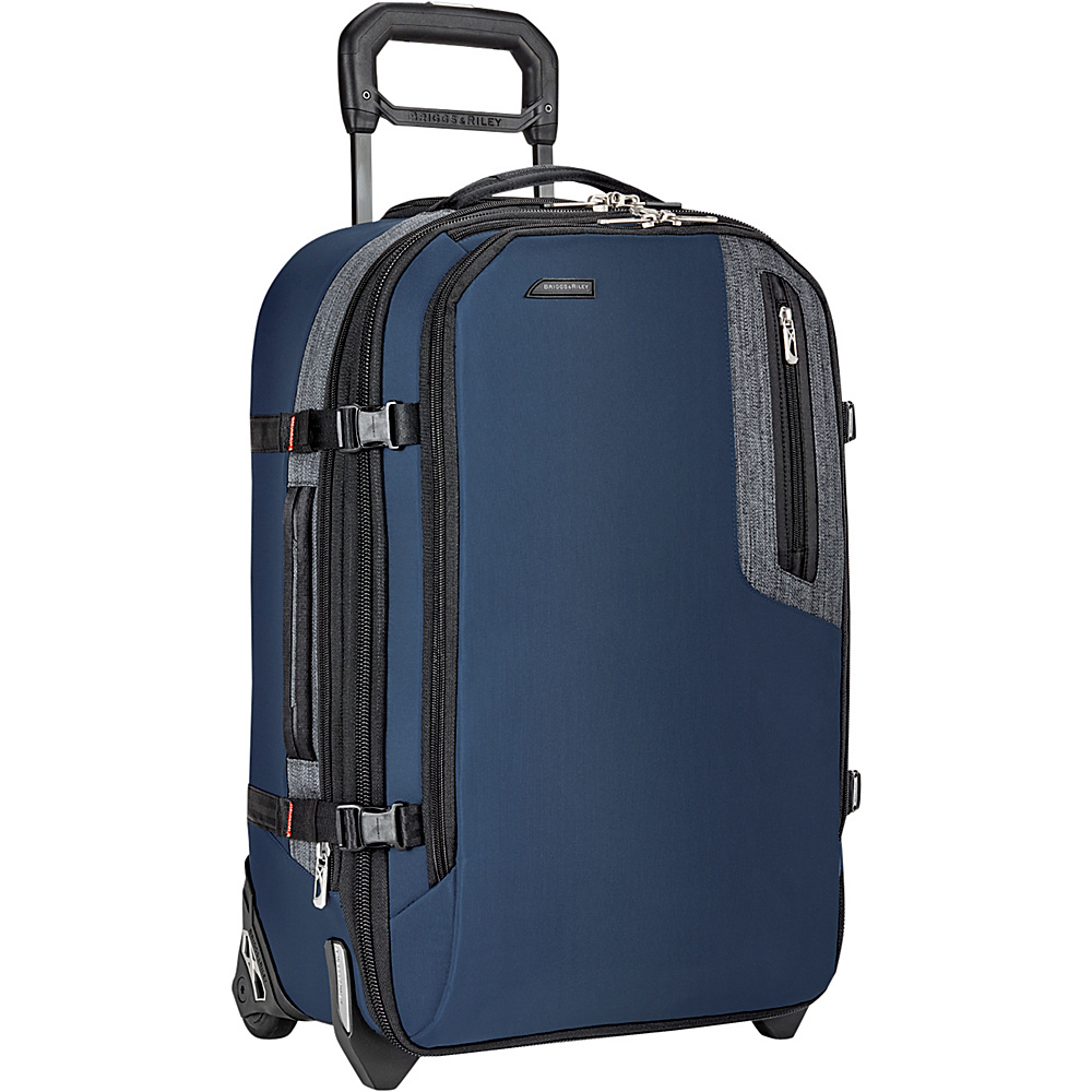 Briggs & Riley Explore Commuter Expandable Upright Blue - Briggs & Riley Softside Carry-On