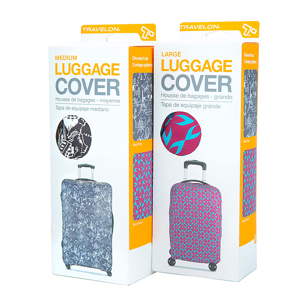 Travelon Luggage Cover Two Pack Assorted - Travelon Luggage Accessories - Travel Accessories, Luggage Accessories