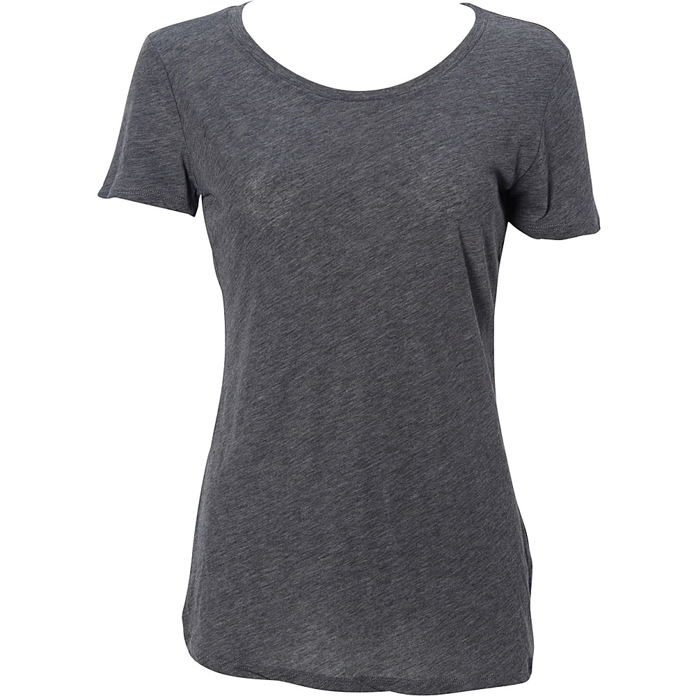 Simplex Apparel Boutique Womens Crew Tee M - Charcoal Grey - Simplex Apparel Womens Apparel - Apparel & Footwear, Women's Apparel