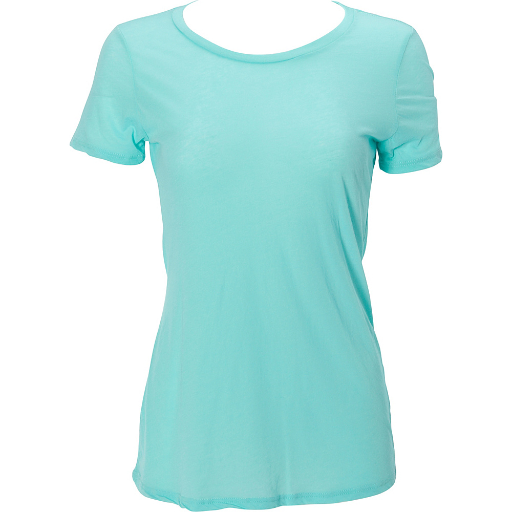 Simplex Apparel Boutique Womens Crew Tee M - Mint - Simplex Apparel Womens Apparel - Apparel & Footwear, Women's Apparel