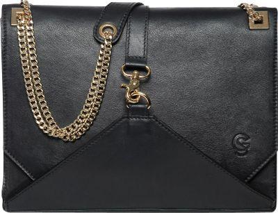 Gregory Sylvia Natalia Shoulder Bag Black - Gregory Sylvia Leather Handbags