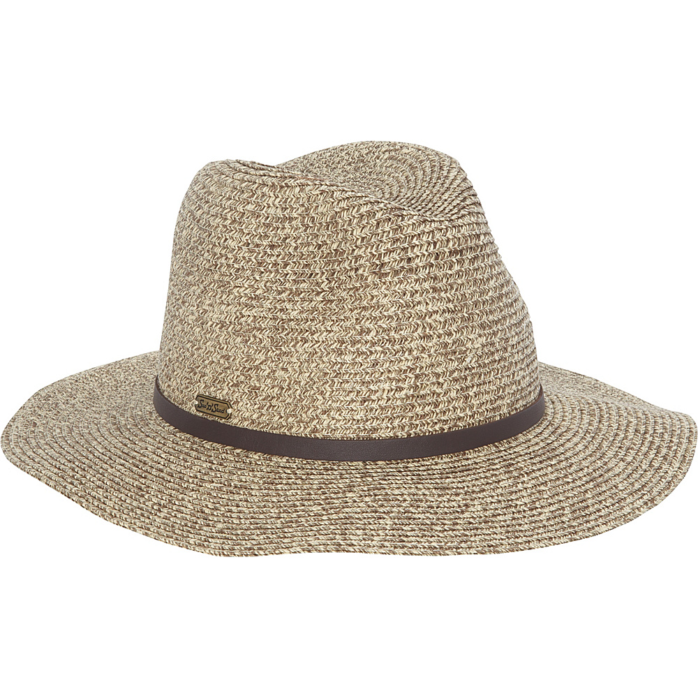Sun N Sand Paper Braid Safari Hat One Size - Brown - Sun N Sand Hats/Gloves/Scarves - Fashion Accessories, Hats/Gloves/Scarves