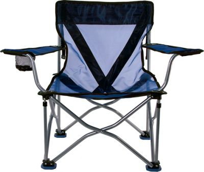 Travel Chair Company French Cut Steel Chair Blue - Travel Chair Company Outdoor Accessories