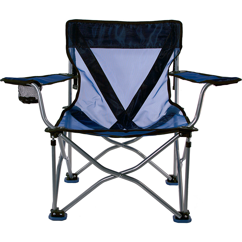 Travel Chair Company French Cut Steel Chair Blue Travel Chair Company Outdoor Accessories