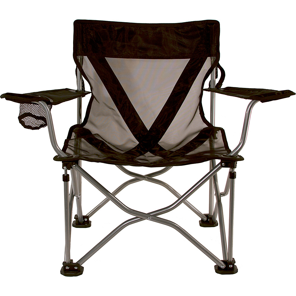 Travel Chair Company French Cut Steel Chair Black Travel Chair Company Outdoor Accessories