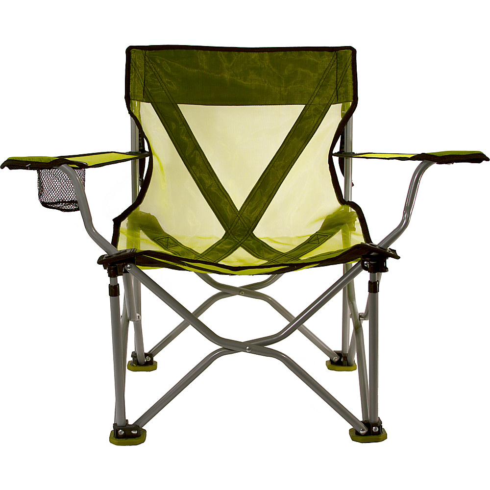 Travel Chair Company French Cut Steel Chair Lime Travel Chair Company Outdoor Accessories