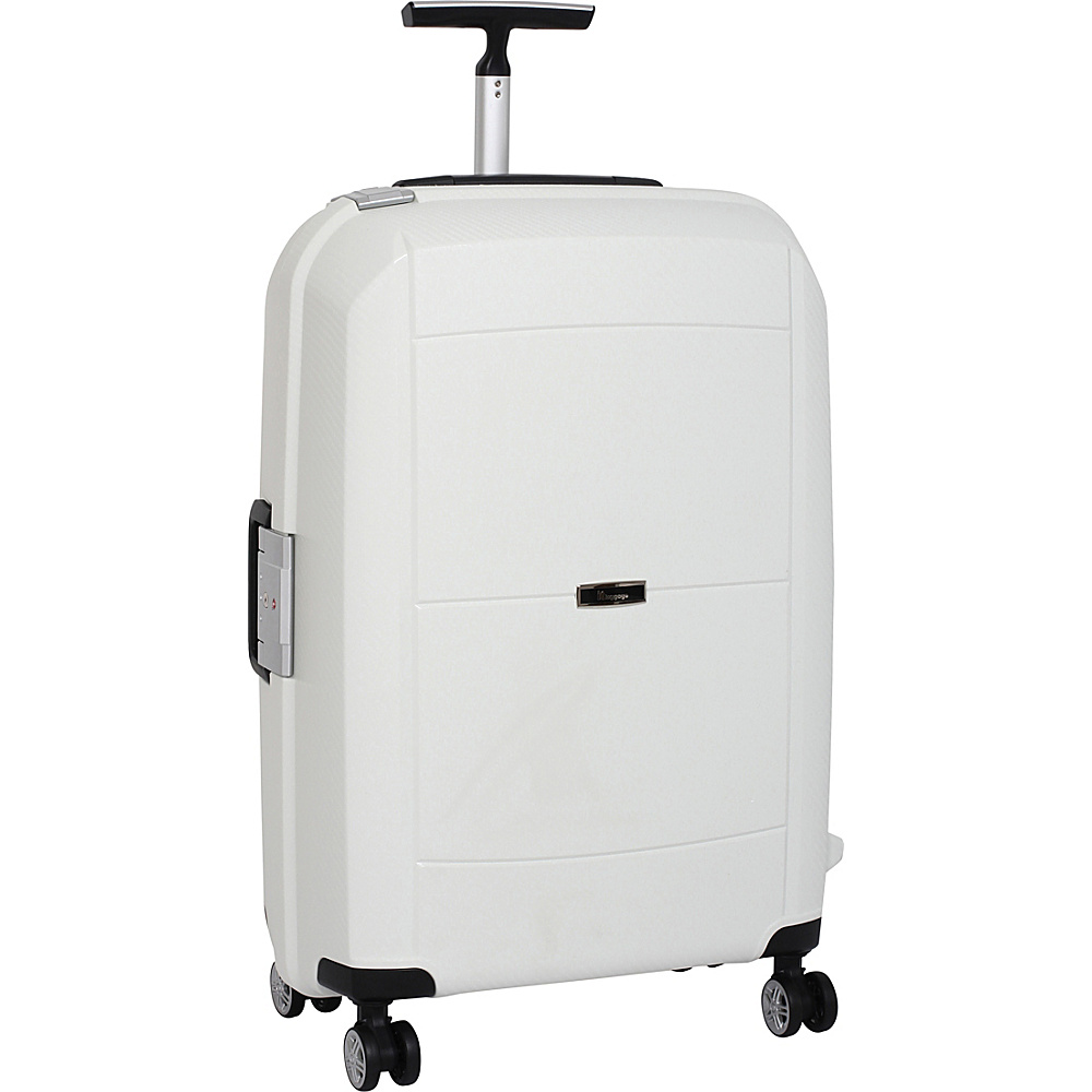 it luggage Monoguard 26.6 inch 8 Wheel Spinner CLOSEOUT White it luggage Softside Checked