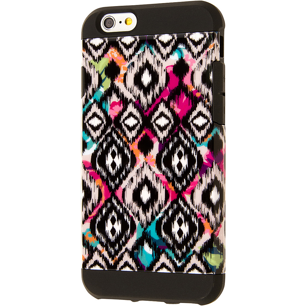 EMPIRE MINX Slim Protection Hybrid Case for Apple iPhone 6 iPhone 6S Black Tribal Diamonds EMPIRE Electronic Cases