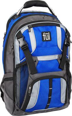ful Hexar Laptop Backpack Cobalt - ful Business & Laptop Backpacks