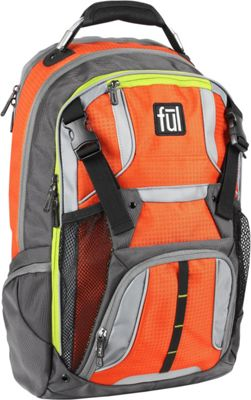 ful Hexar 17 Inch Laptop Backpack Orange - ful Business & Laptop Backpacks