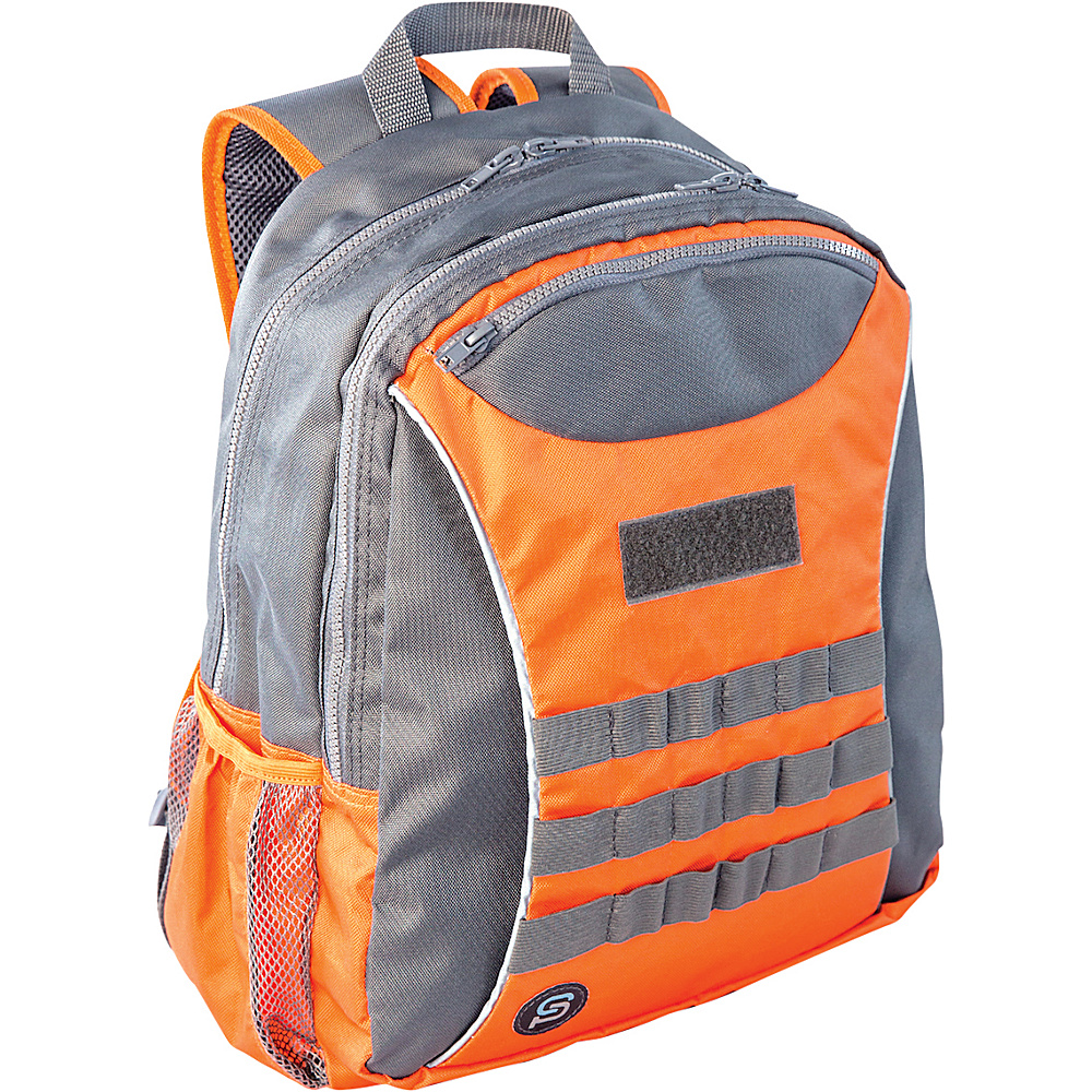 Sydney Paige Buy One Give One Taggart Backpack Orange Sydney Paige Everyday Backpacks